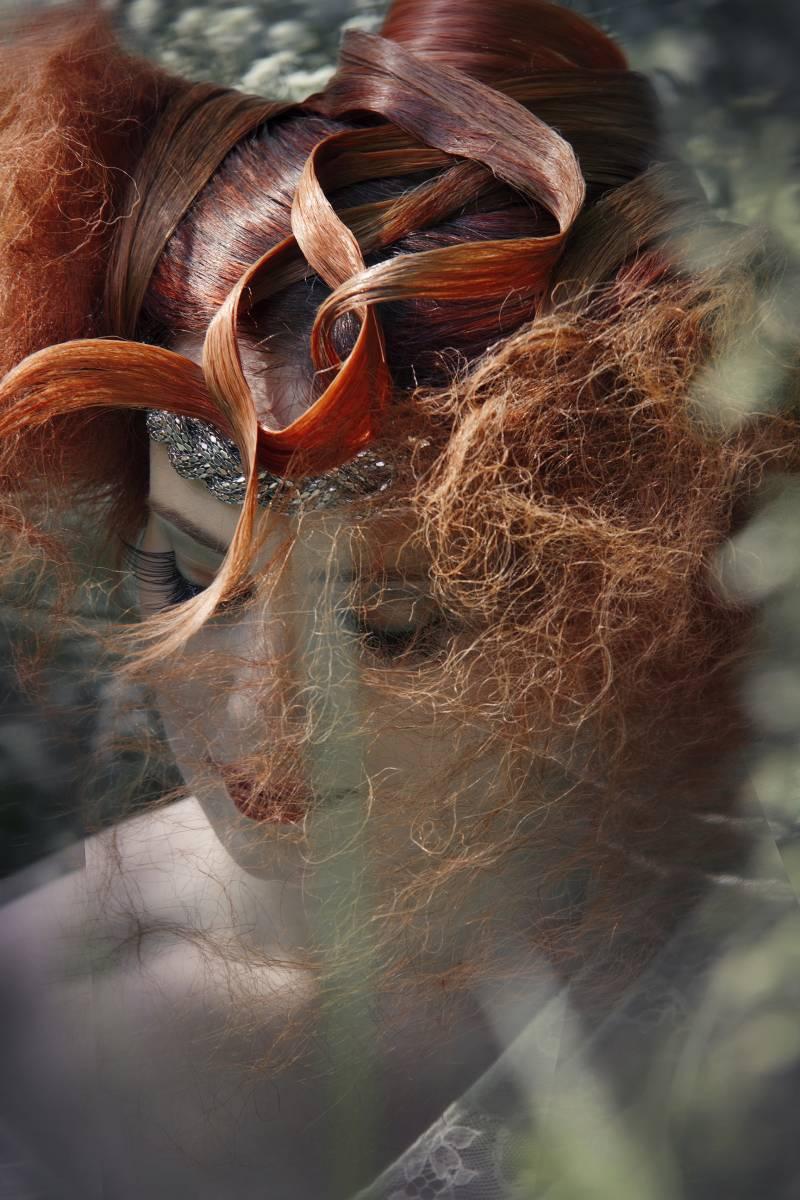 robe créée pour l'occasion - collection 2013 par LEUTELLIER TESSON Couture